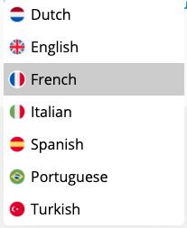 online seznamka Happn - jazyky